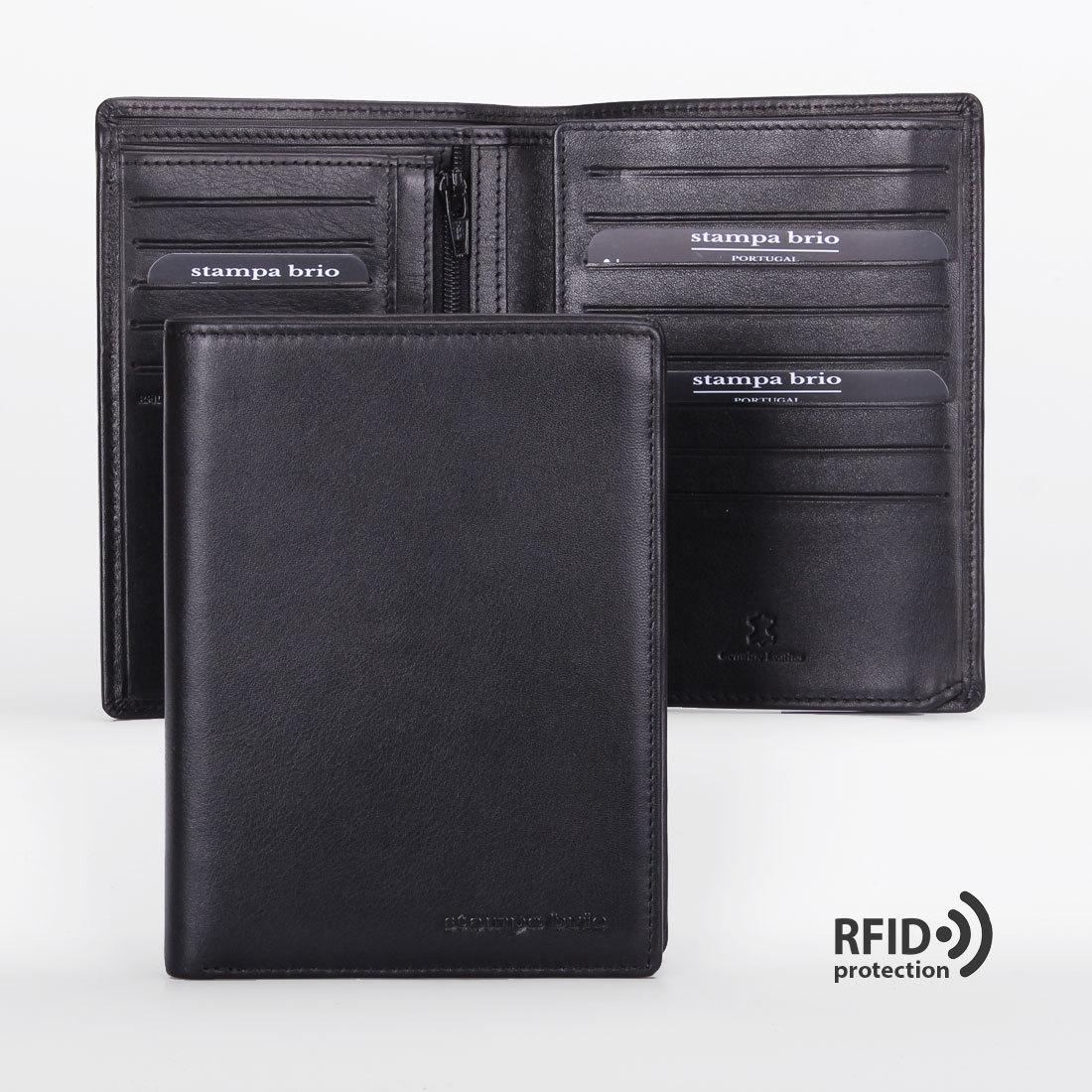 606 R - Портмоне вертикальное 5в1 с RFID защитой