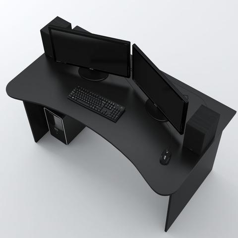 Стол Компьютерный SURF 1400 Черный