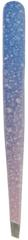 Пинцет розово-голубой металлический