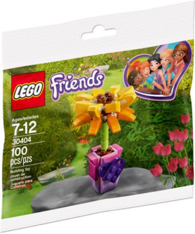 LEGO Friends: Цветок дружбы 30404 — Friendship Flower / Sunflower polybag — Лего Френдз Друзья Подружки