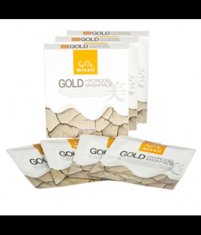 Misoli Gold Hydrogel Maskpack гидрогелевая маска с золотом для интенсивного ухода