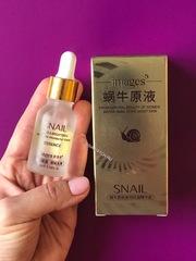 Сыворотка с экстрактом улитки и гиалуроновой кислотой  Images  Snail  essence, 15 мл