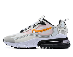 Nike Air Max 270 React 'Grey/Black/Orange'