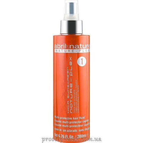 Abril et Nature Nature-Plex Hair Sunscreen Fluid 1 – Двухфазный спрей для окрашенных и густых волос