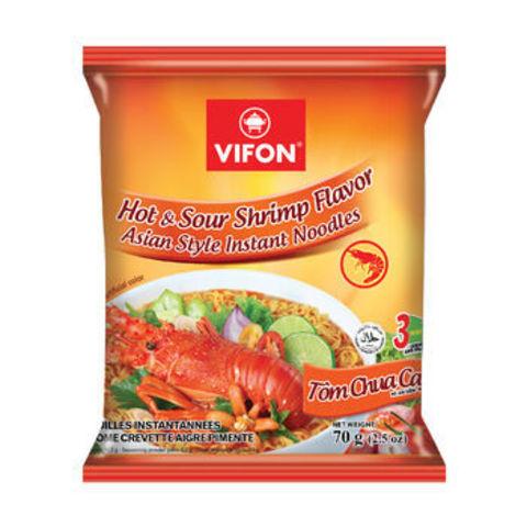 Лапша пшеничная Vifon со вкусом креветки