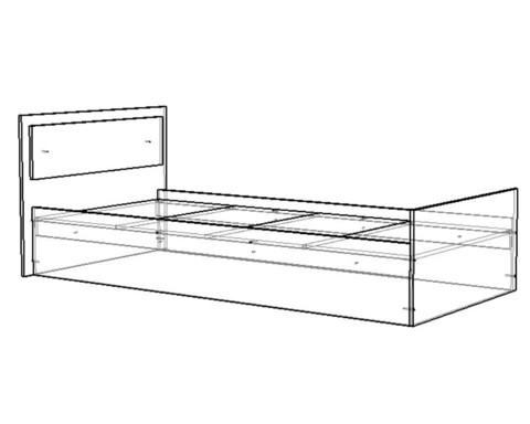 Кровать МОНАКО 2000-900 /2035*750*1050/
