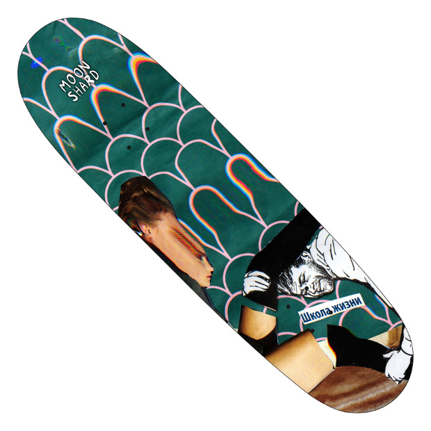 Дека для скейтборда MOON SHARD School Of Life