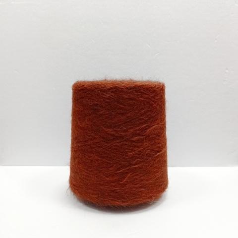 Бобинная пряжа Aff-Hairgeo. Цвет: Кирпичный. Цена указана за 50г