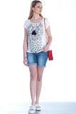 Блузка для беременных 07763 бежевый