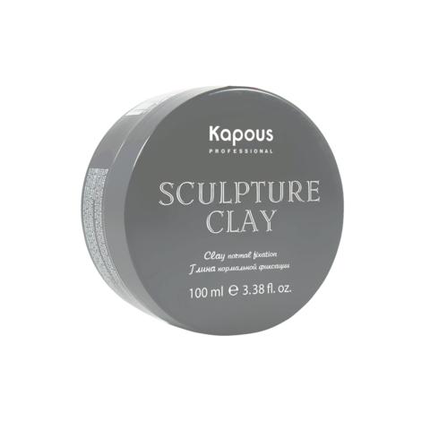 Глина для укладки волос нормальной фиксации  Kapous, 100 мл