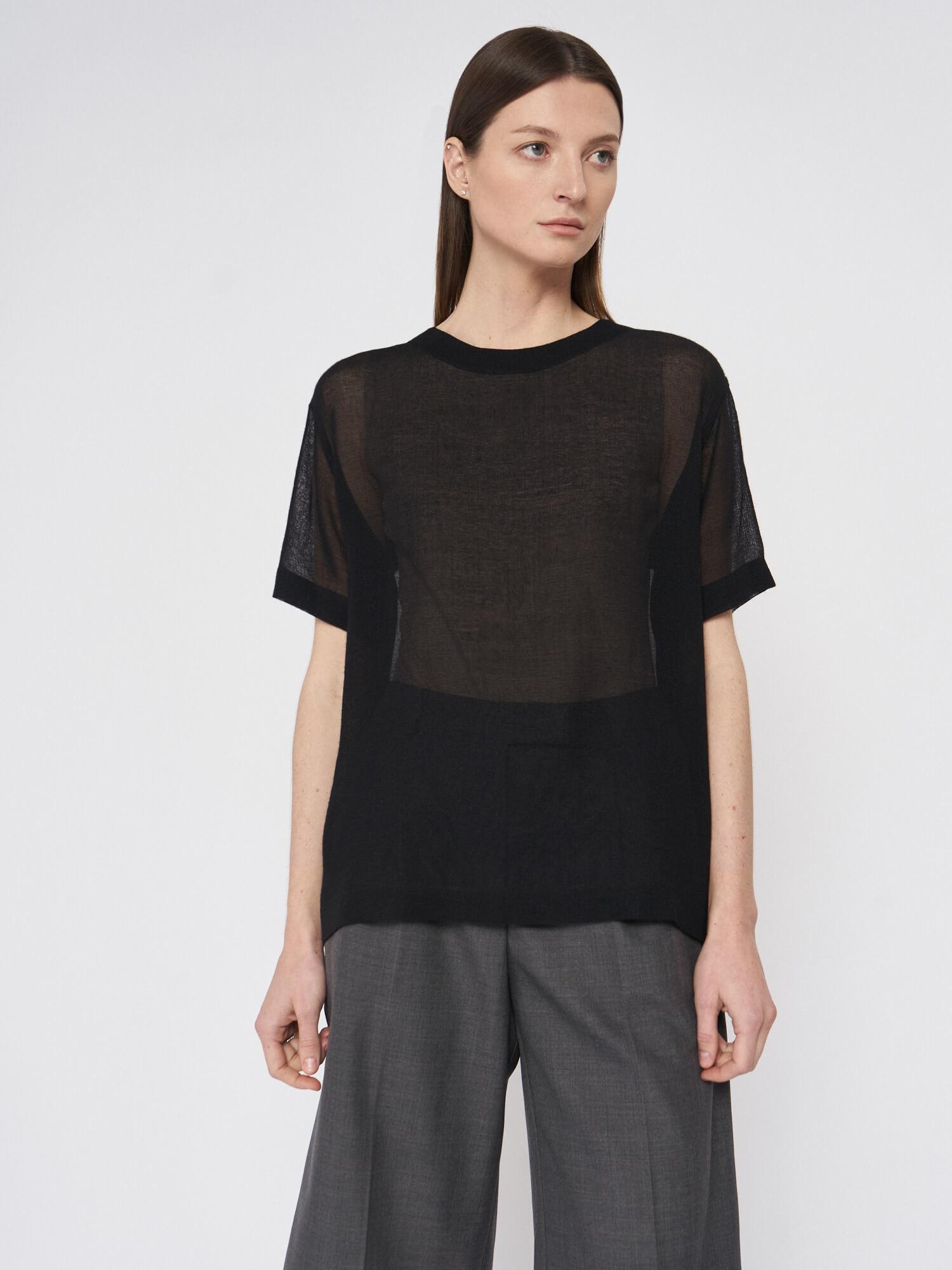 Блуза Rene прозрачная