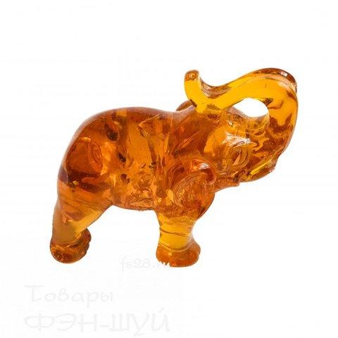 Cлон из янтаря большой