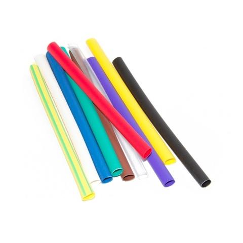 Термоусадочная трубка 6/3 (один вид, 7цветов по 3шт. 10см) упаковка 21шт