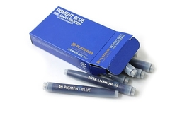 Картриджи Platinum Pigment Blue (10 шт)