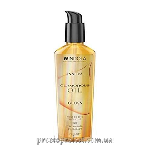 Indola Innova Glamour Oil Finishing Treatment - Олія для блиску волосся