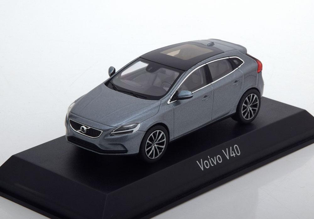 Коллекционная модель VOLVO V40 2016 OSMIUM GREY