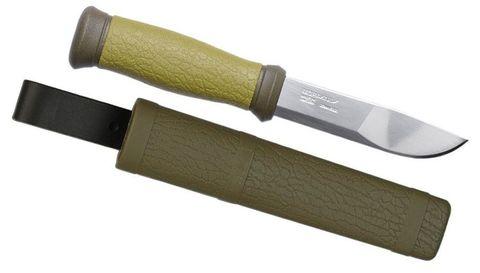 Нож перочинный Mora Outdoor 2000 (10629) 218мм хаки