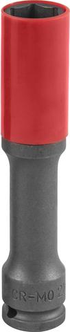 S18AD4121 Головка торцевая ударная тонкостенная глубокая для колесных дисков 21 мм