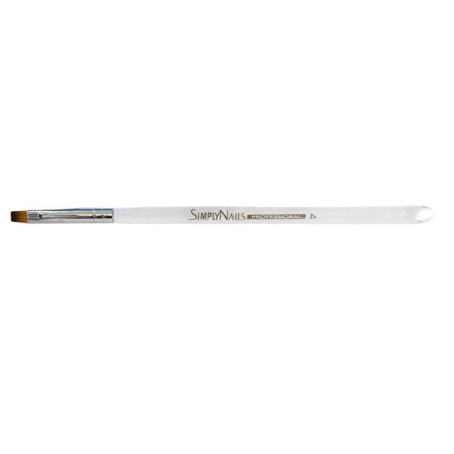 Для геля Simply Nails, Кисть гелевая прозрачная ручка № 4 - прямая 3e44b6dfe7b657dae6563596c95ce110.jpg