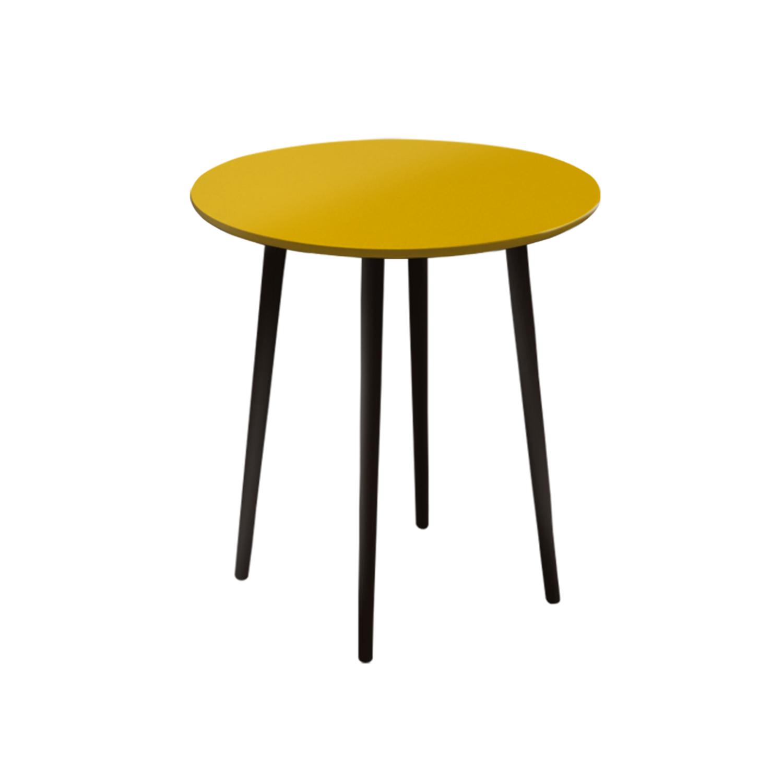 Маленький обеденный стол Спутник 70 см - вид 5