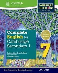 English for Cambridge Secondary 1 Student Book 7  Oxford University Press