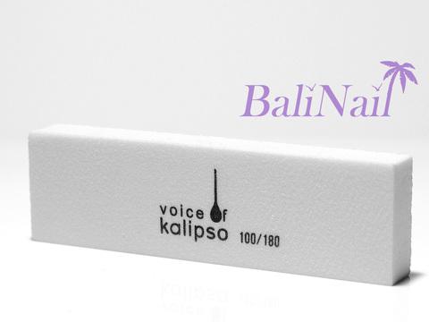 Бафик Voice of Kalipso белый, двусторонний, 96Х28Х12мм 100/180 грит