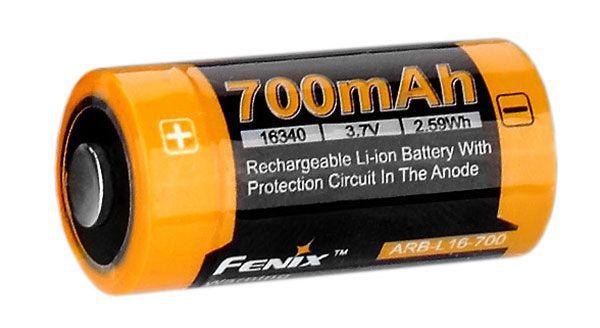 аккумулятор Fenix Li-ion 16340 700mAh