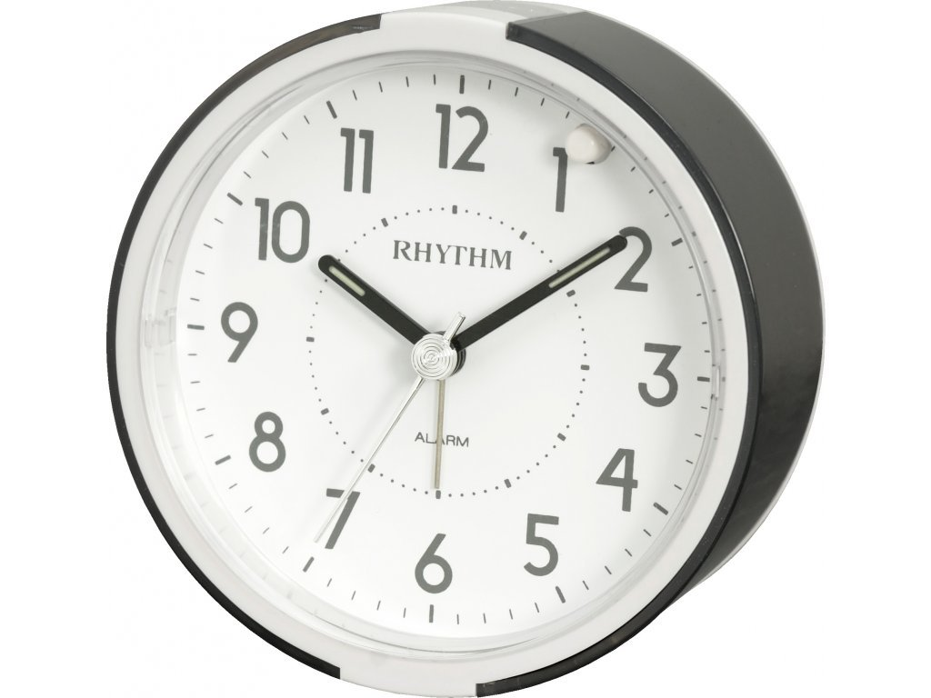 Настольные часы-будильник Rhythm CRE896BR02