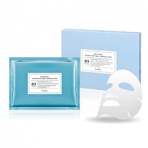 Восстанавливающая и увлажняющая тканевая маска, 30 г / Dr. Althea Water Glow Aqua Ampoule Mask