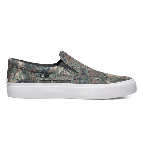 Кеды DC Trase Slip-on S M Shoe CMO Camo