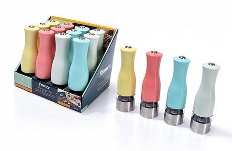 8211 FISSMAN Электрическая мельница для соли и перца 20 см с подсветкой,  купить