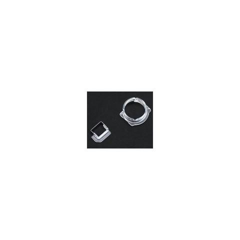 Front Camera & Light Sensor Plastic Holder Clip Apple iPhone6/6P 100pcs SET (液晶透明摄像圈+感应圈