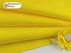 Фетр мягкий корейский желтый RN12