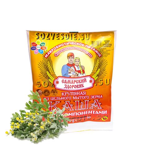 Каша Самарский Здоровяк №18 Пшенично-рисовая с полынью