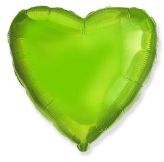 Шар сердце лайм