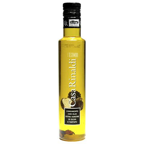 Масло Casa Rinaldi оливковое Extra Vergine с кусочками белых трюфелей 250мл