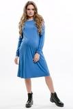 Платье для беременных 09141 джинса