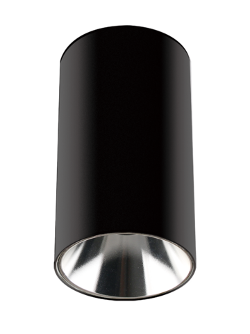 Светильник накладной PDL-R 14080 GU10 BL/CH