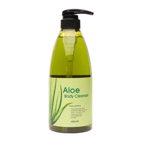WELCOS Kwailnara Гель для душа алое Kwailnara Aloe Body Cleanser 740гр