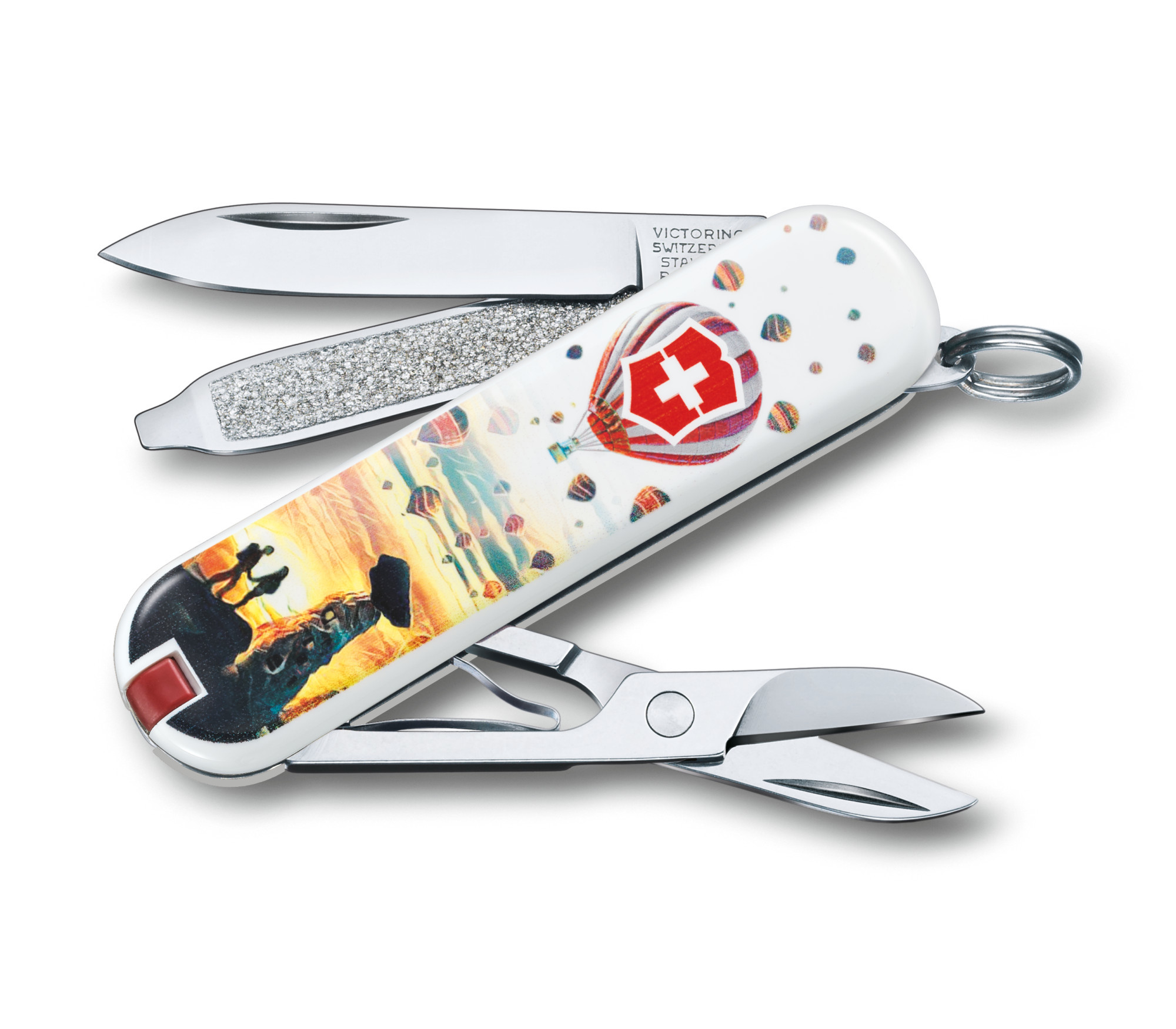 Складной нож-брелок Victorinox Classic LE 2018