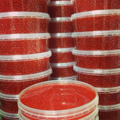Икра Кеты, свежий урожай, Сахалин (0.5кг)