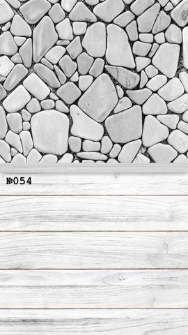 Фотофон виниловый стена-пол «Каменная кладка» №054