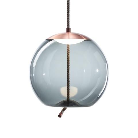 Подвесной светильник копия Knot Sfera by Brokis (синий)