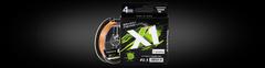 Шнур Favorite X1 PE 4x 150m (orange) #2.5/0.26mm 16.4kg/35lb