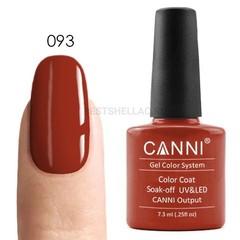 Canni, Гель-лак № 093, 7,3 мл