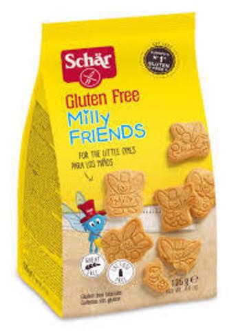Печенье (Milly Friends) детское 125г б/глютен б/лактоз Schar