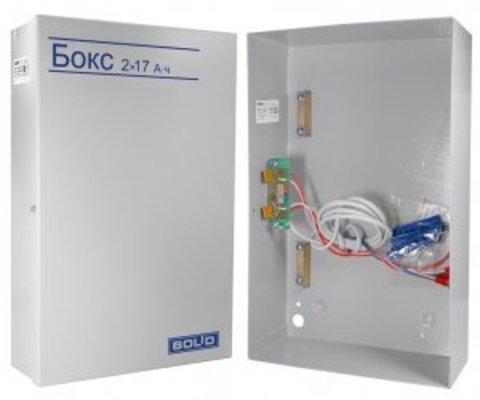 Бокс для аккумуляторов Бокс-12 исп.0 (Бокс-12/34М5) (Бокс 2х17Ач-12В)