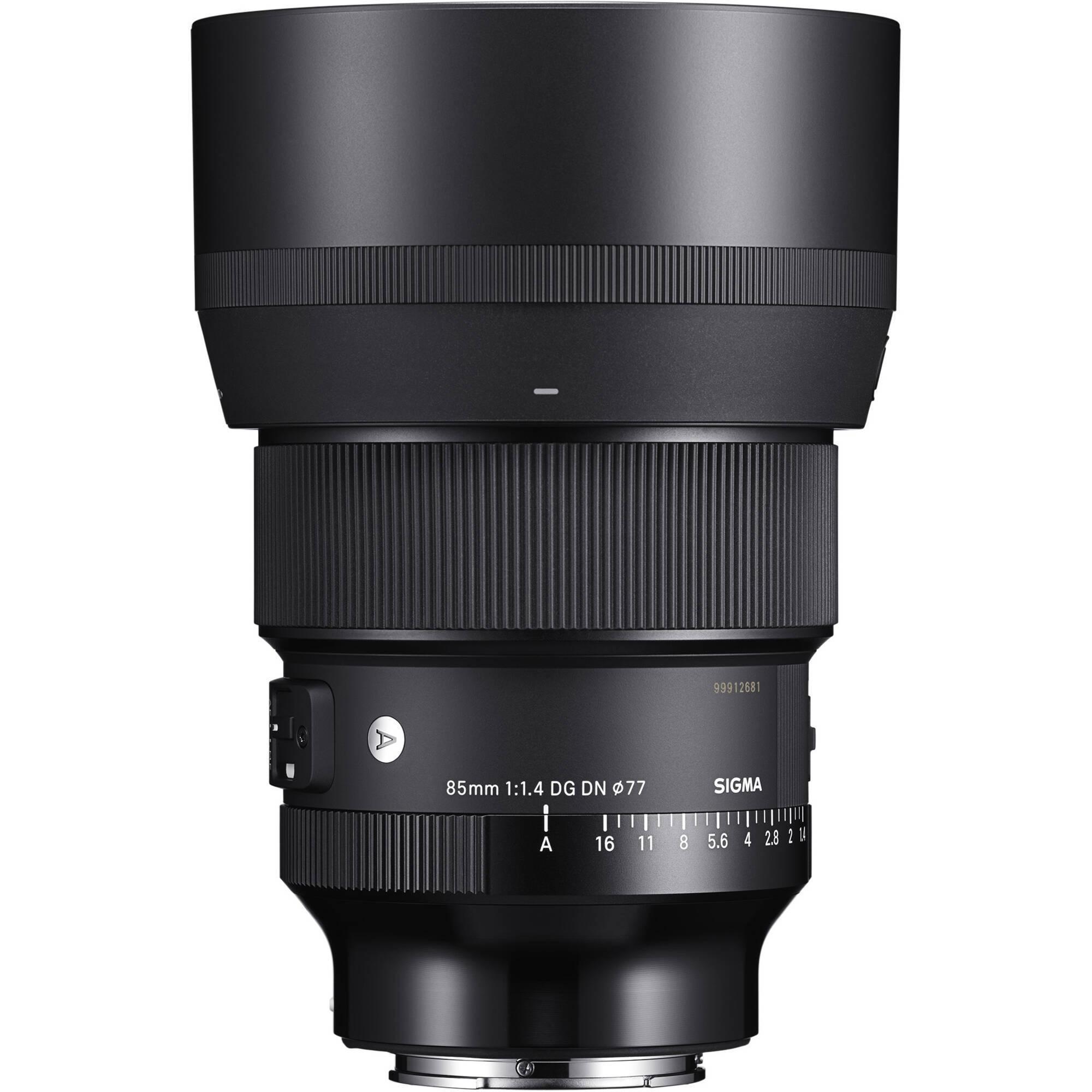 Портретный объектив Sigma AF 85мм F/1.4 DG DN ART Sony E