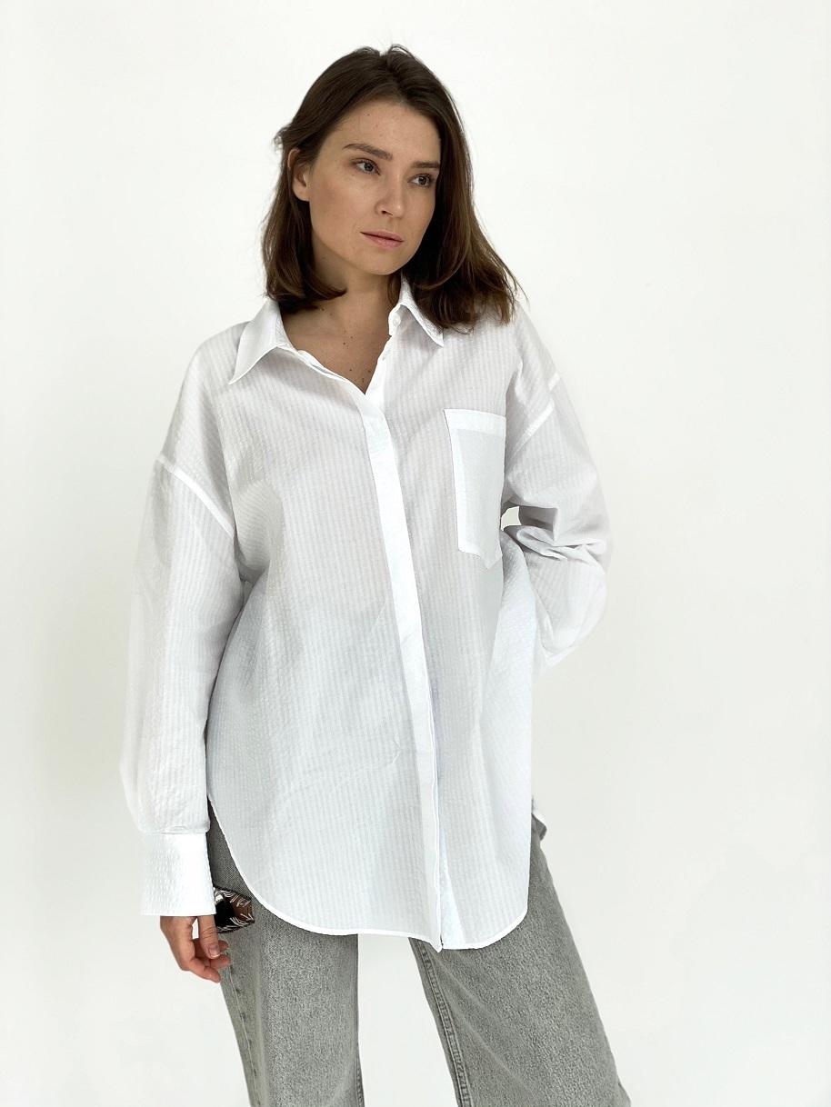Рубашка, Ballerina, 5854 (белый)