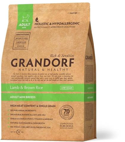 Grandorf Lamb & Brown Rice Adult Mini Breeds